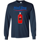 Funny Mad Dog 2020 Red Men Front T Shirts