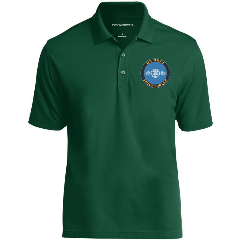 US Navy Aviation Electricians Mate AE Logo_SFL Embroidered Port Authority® Polo Shirt