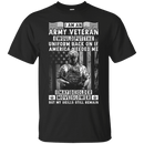 I am an Army Veteran Men Front T Shirt