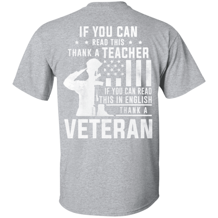 Thank A Veteran T Shirt