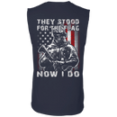 Veteran - They Stood For The Flag Now I Do T Shirt