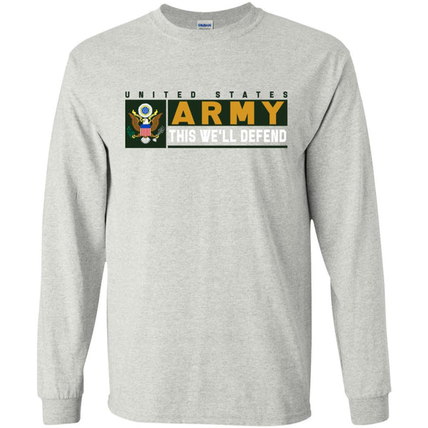 US Army This We Will Defend Long Sleeve - Pullover Hoodie