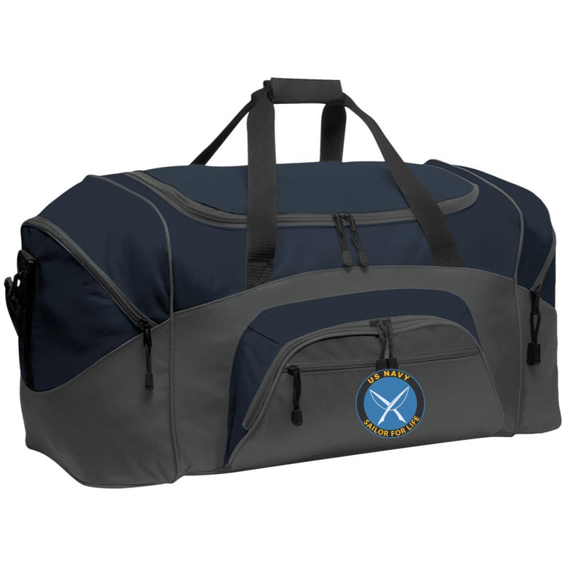 US Navy Yeoman YN Logo_SFL Embroidered Duffel Bag