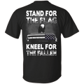 Veteran - Stand For The Flag Kneel For The Fallen T Shirt