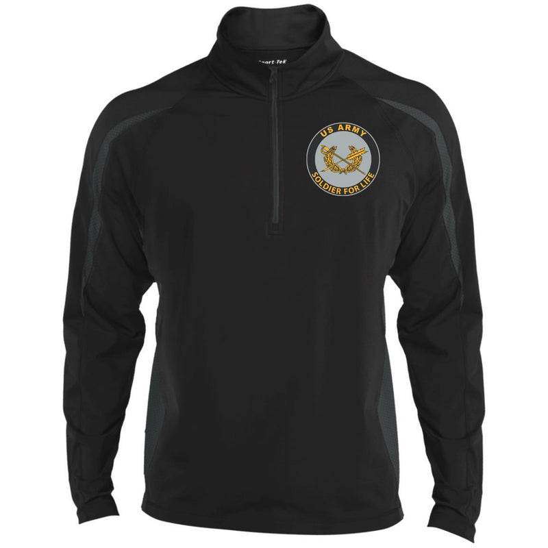 US Army Judge Advocate General's Corps Soldier For Life Embroidered Sport-Tek Pullover V-Neck Windshirt