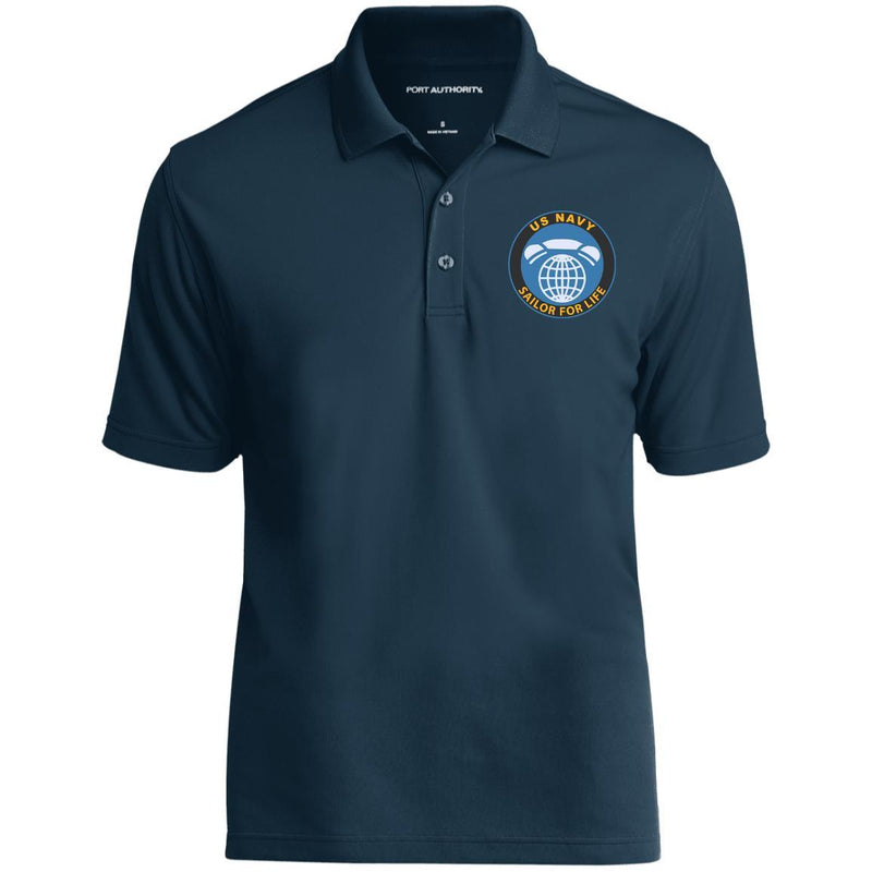 US Navy Interior Communications Electrician IC Logo_SFL Embroidered Port Authority® Polo Shirt