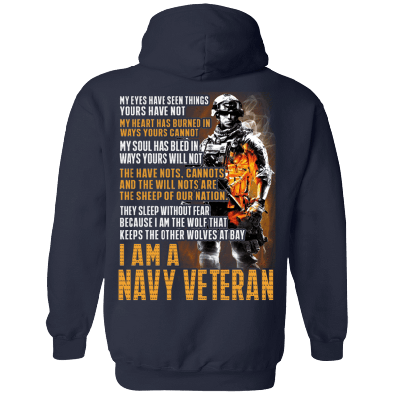 I Am a Navy Veteran T Shirt