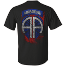 US Air Force - Airborne Angel - Men Back T Shirt