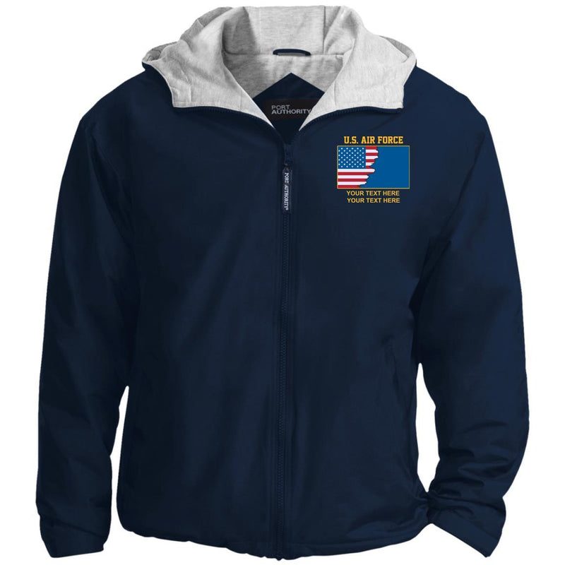 US Air Force Ranks - Personalized Embroidered Team Jacket