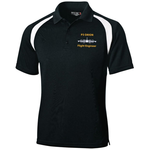 P3 Orion Flight Engineer Embroidered Sport-Tek Moisture-Wicking Tag-Free Golf Shirt