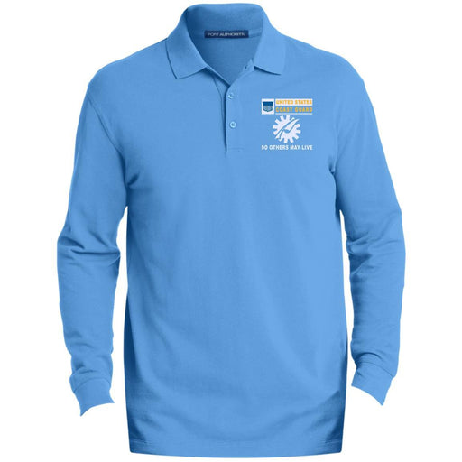 US Coast Guard Data Processing Technician DP- So others may live Embroidered Port Authority® LS Polo