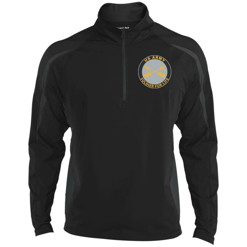 US Army Special Forces Soldier For Life Embroidered Sport-Tek Pullover V-Neck Windshirt
