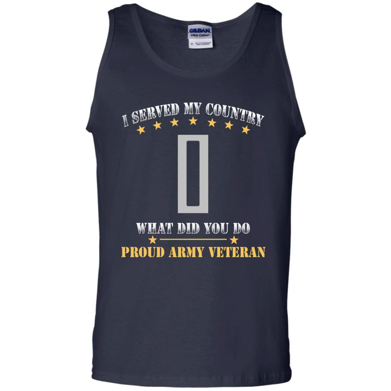 US Army W-5 Chief Warrant Officer 5 W5 CW5 Warrant Officer Ranks Men Front T Shirt - Proud US Army Veteran