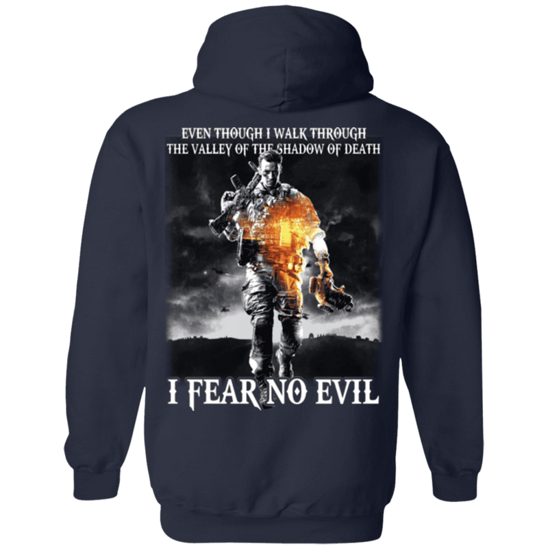 Veteran - I Fear No Evil T Shirt