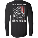Veteran - Stand For The National Anthem Kneel For The Fallen T Shirt
