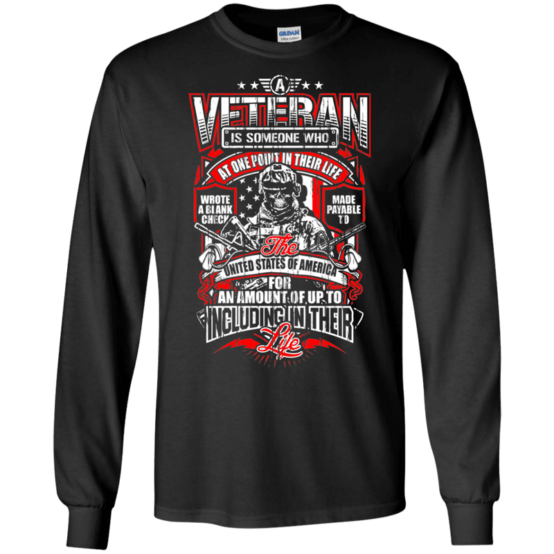 A Veteran Men Front T Shirts