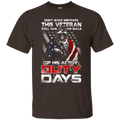 Don't Make Mistakes With This Veteran Has Skills of His Active Duty Days Men Front T Shirts