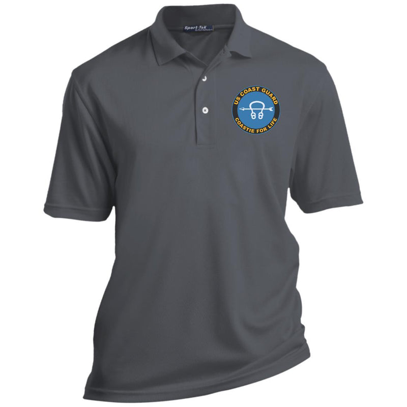 US Coast Guard Sonar Technician ST Logo Coastie For Life Embroidered Port Authority® Polo Shirt