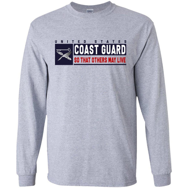 USCG CULINARY SPECIALIST CS Logo- So that others may live Long Sleeve - Pullover Hoodie