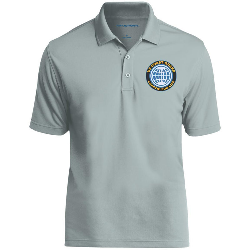 US Coast Guard Electrician's Mate EM Logo Coastie For Life Embroidered Port Authority® Polo Shirt