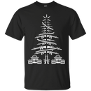 CHRISTMAS TREE VETERAN T SHIRT