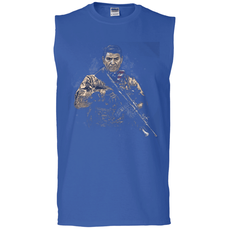 Ronald Reagan Soldier Presidents T Shirt