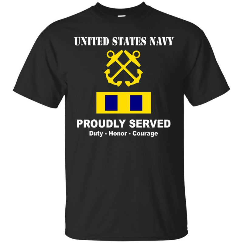 US Navy W-3 Chief Warrant Officer 3 W3 CW3 Warrant Officer Ranks Tshirt Men Front - T Shirts For Navy Ranks