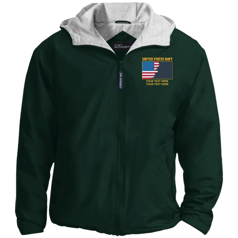 US Navy Rate - Personalized Embroidered Team Jacket