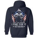 Enjoy your freedom I paid for it Men Back T Shirts
