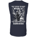 Veteran - Don't Defend Too Much Anyone In This World T Shirt