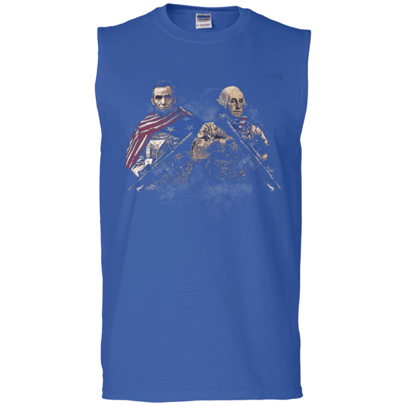 Lincol - Washington Soldier Presidents T Shirt