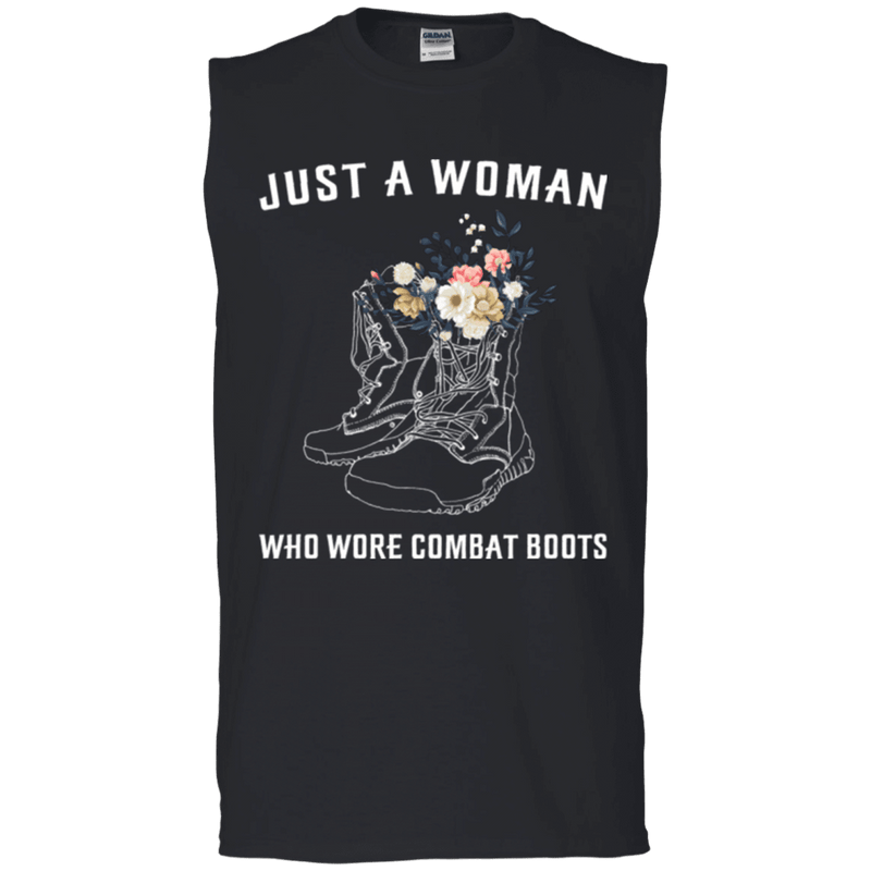 JUST A WOMAN WHO WORE COMBAT BOOTS