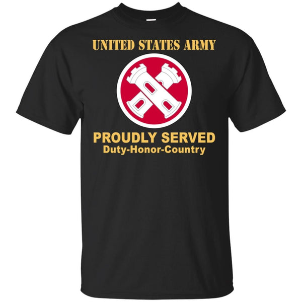 16TH ENGINEER BRIGADE- Proudly Served T-Shirt On Front For Men