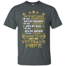 PROUD TO BE A VETERAN'S WIFE TSHIRT