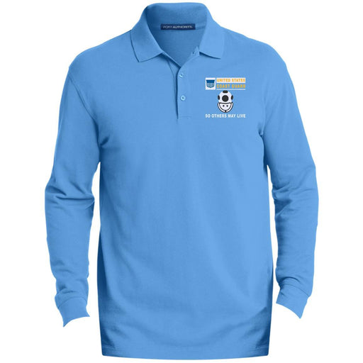 US Coast Guard Diver ND- So others may live Embroidered Port Authority® LS Polo