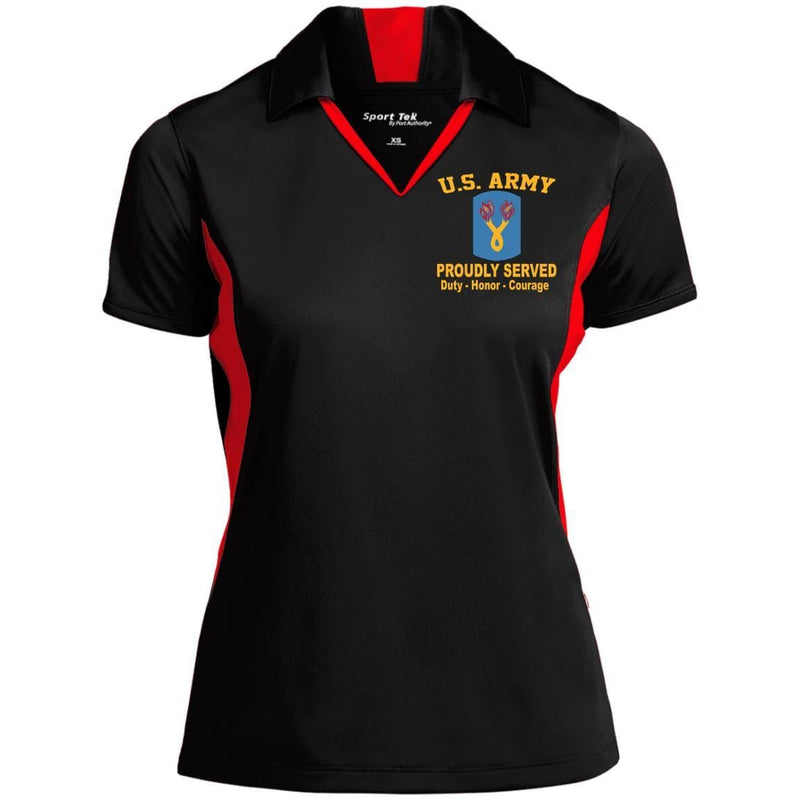 US Army 196th Infantry Brigade Embroidered Polo Shirt