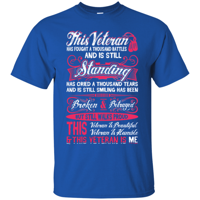 This Veteran is Beautiful and Humble T-Shirt Women Front