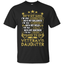 PROUD TO BE A VETERAN'S DAUGHTER TSHIRT