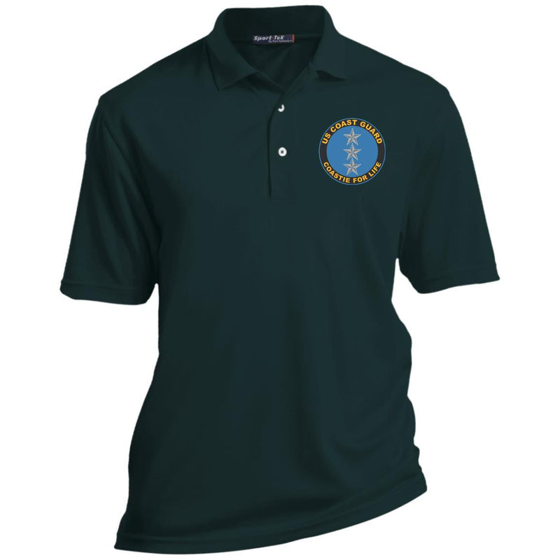 US Coast Guard O-9 Vice Admiral O9 VADM Flag Officer Coastie For Life Embroidered Port Authority® Polo Shirt