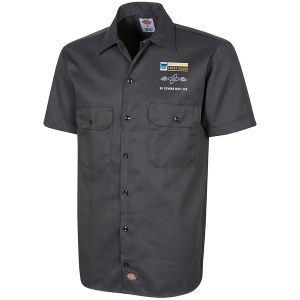 US Coast Guard Aviation Electronics Technician AET- So others may live Embroidered Dress Shirt - Workshirt