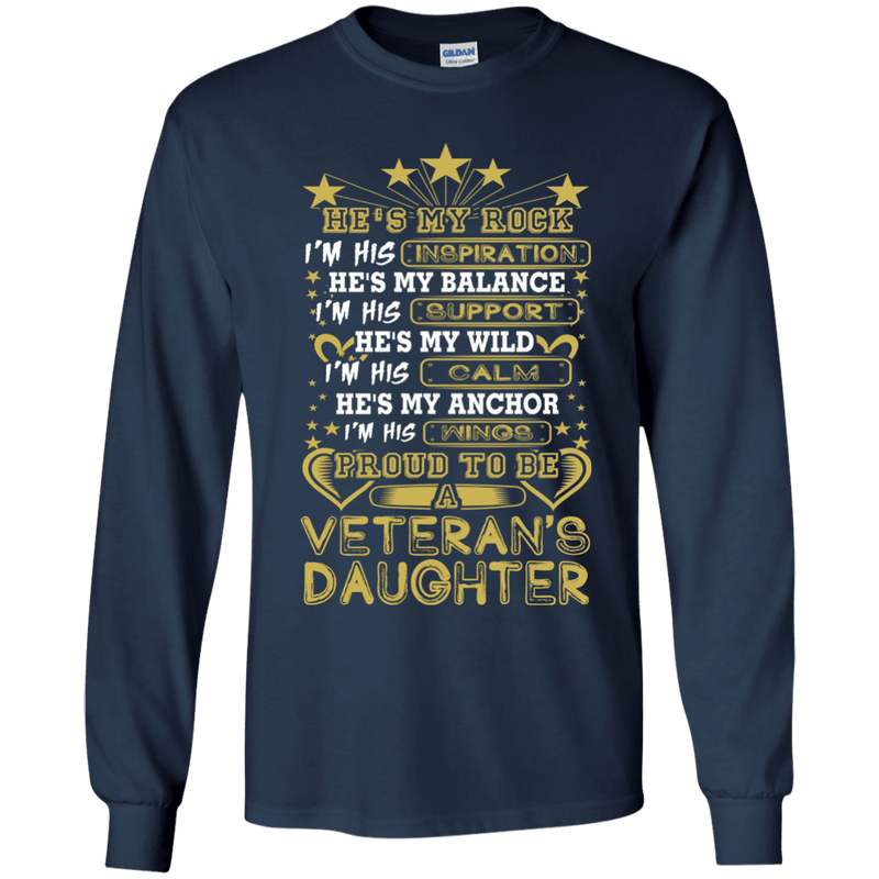 Proud To Be A Veteran's Daughter T Shirt