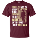 I Am A Veteran T Shirt