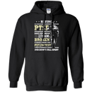 Having PTSD Doen't Mean Broken Front T Shirts