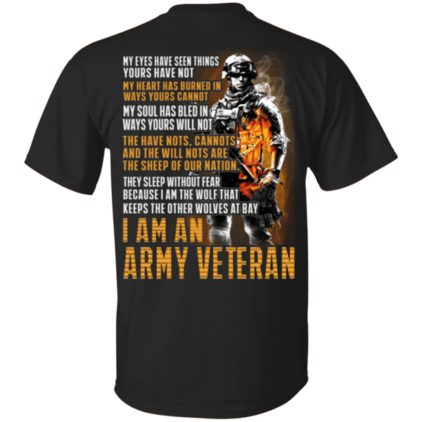 I Am An ARMY Veteran T Shirt