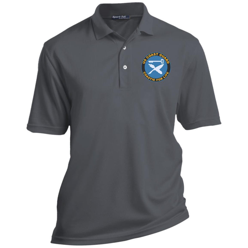 US Coast Guard Culinary Specialist CS Coastie For Life Embroidered Port Authority® Polo Shirt