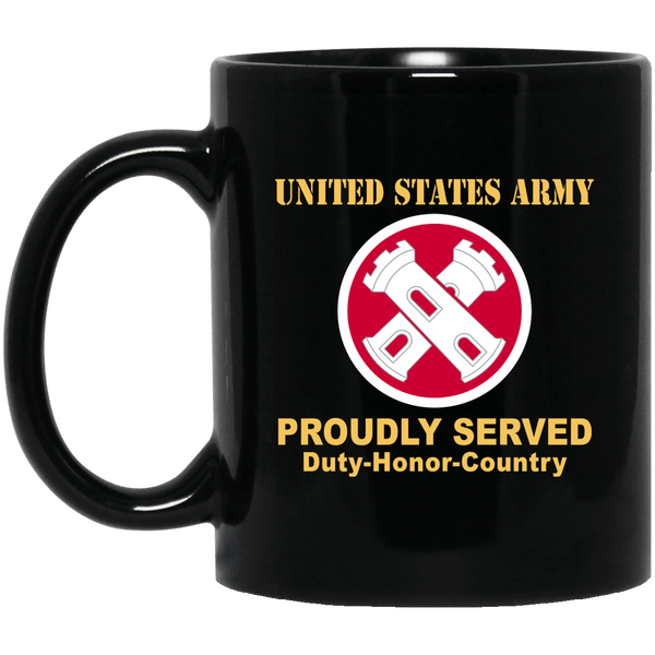 16TH ENGINEER BRIGADE- 11 oz - 15 oz Black Mug