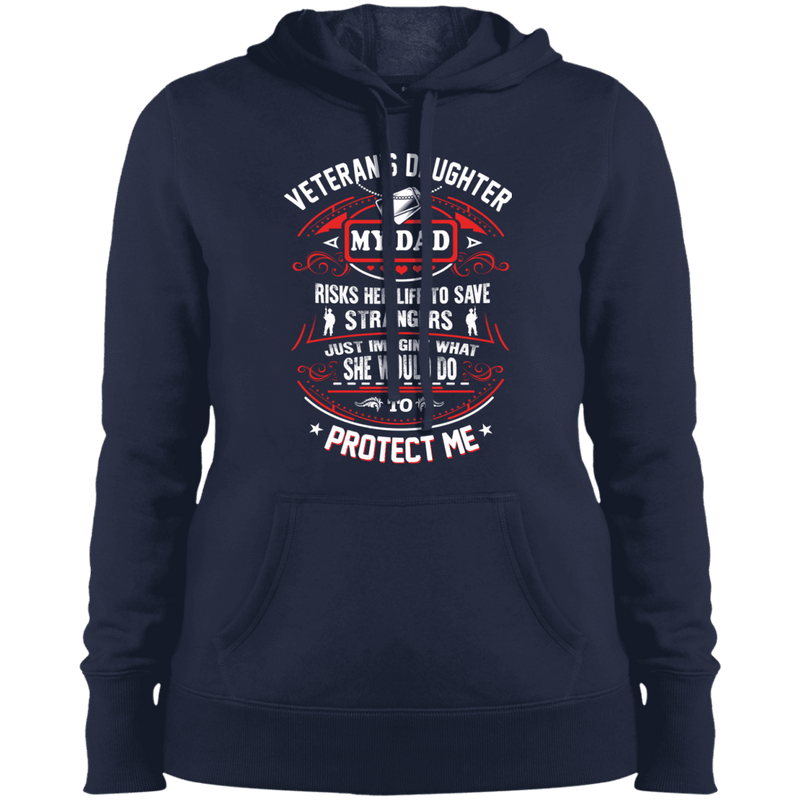 Veteran Daughter My Dad Risk His Life To Protect Me T Shirt