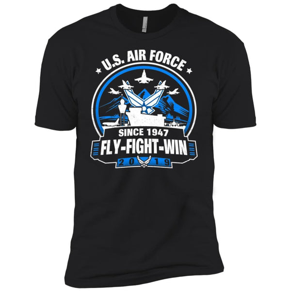 US Air Force Birthday 2019 NL3600 Next Level Premium Short Sleeve T-Shirt