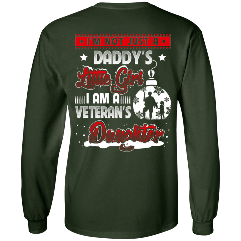I Am A Veteran's Daughter T Shirt