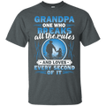 GRANDPA ONE WHO BREAKS ALL THE RULES T SHIRT